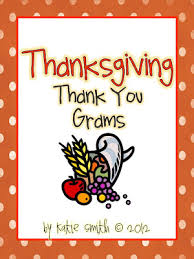 classroom freebies thank you grams thanksgiving letter writing