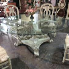 Glass Top Pedestal Dining Tables 72 Round Glass Table Top U2013 Anikkhan Me