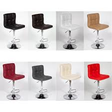 Adjustable Bar Stools 2 Modern Adjustable U0026 034 Leather U0026 034 Swivel Pub Style Bar