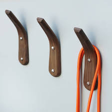 curved wooden coat hook by layertree notonthehighstreet com