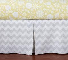 Gray And Yellow Crib Bedding Baby Bedding Set Pottery Barn