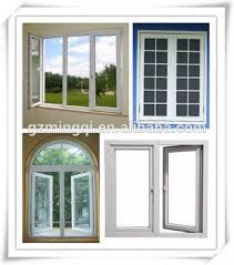 Awning Window Fly Screen White Plastic Solid Low E Glass Casement Windows Manufacturer