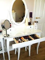 Beautiful Makeup Vanities Wall Hung Dressing Table Mirror Beautiful Makeup Desk Ideas For
