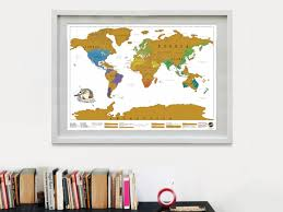 Countries Visited Map Scratch Map Scratch The Countries You Have Visited Coolstuff Com