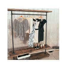 home design diy industrial garment rack window treatments home