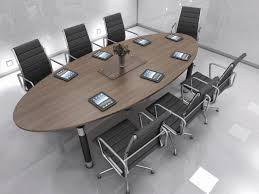 Modern Meeting Table Decorating Meeting Tables Ideas With Oval Conference Tables