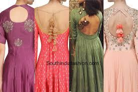 blouse back neck designs top 54 trendy designs blouse back