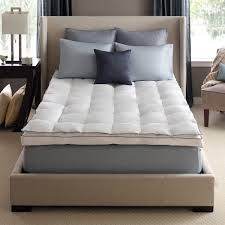 full size mattress pad soft plush fitted pillow top bed pillow top mattress pad down on top feather bed mattress topper