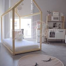 Child Bed Frame Custom Order In Addition To Simple Order Changing Wood Of Painted