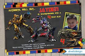 transformers birthday birthday invites top 10 transformers birthday invitations for