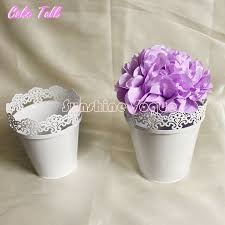 Cake Vase Set Aliexpress Com Buy Metal Flower Bucket Lollipop Holder Cake