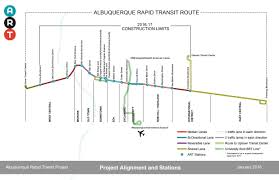 Bart Expansion Map by Central Avenue Albuquerque Rapid Transit Art U2014 City Of Albuquerque