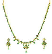emerald gold necklace jewelry images Fine quality natural emerald necklace set with earring gleam jewels jpg