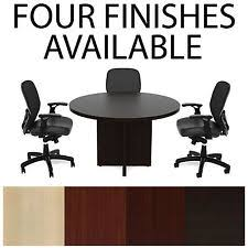 Office Meeting Table Round Conference Table Ebay