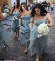 blue gray bridesmaid dresses bridesmaid dresses price comparison buy cheapest