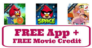 amazon download free angry birds app u0026 get 3 movie credit