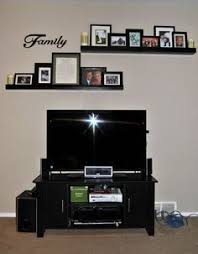 Home Decor Shelf Ideas Best 25 Shelf Above Tv Ideas On Pinterest Tv On Wall Ideas