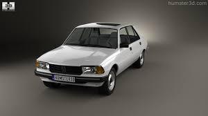 peugeot sedan 360 view of peugeot 305 sedan 1977 3d model hum3d store