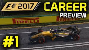 renault australia f1 2017 career mode gameplay part 1 australia renault preview