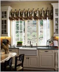 Christmas Kitchen Curtains by Kitchen Ruffle Curtains Kitchen Curtain Sets Kitchen Valance