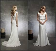 online shop elegant cap sleeve mermaid satin wedding dresses