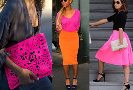 what goes with pink colors that go with neon pink clothes outfit ideas fashion rules