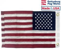 How Many Streamers Are On The Army Flag All Weather Nylon American Flag Outdoor Flags