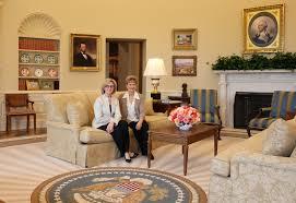 Oval Office Pics Talkcontract Gensler Designers Capture The Look Of Bush Era Oval