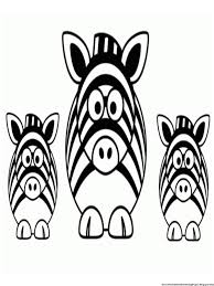 zebra coloring pages getcoloringpages com