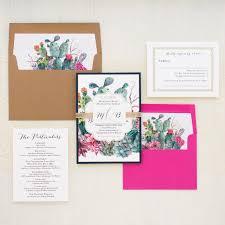 desert blooms wedding invitations beacon lane