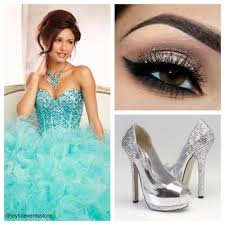 smokey eye and silver heels silver heels quinceanera and eye