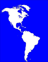 North America South America Map by Blank Map Directory Blank Map Directory The Americas