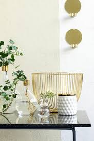 scandinavian home accessories in gold make your home shine fresh golden scandinavian home accessories decorative gold cup