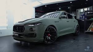 maserati green maserati military green youtube