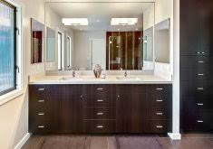 built in bathroom mirror large sink with mirror fitted home design