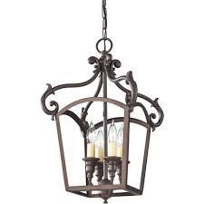 Murray Feiss Lighting Catalog Feiss Luminary 4 Light Oil Rubbed Bronze Hall Chandelier F2801
