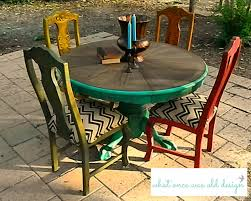 Mexican Chairs Dining Rooms Wonderful Multi Colored Dining Chairs Photo Multi