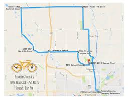 Kalamazoo Michigan Map by Bike Ride July 9th Susan Mast Als Foundation