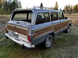 jeep grand wagoneer 1989 jeep grand wagoneer for sale classiccars com cc 1049810