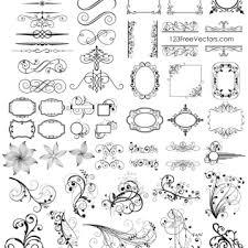 150 ornament vectors free vector graphics
