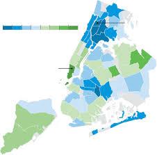 New York City Map New York City U0027s Stubborn Graduation Gaps Wsj
