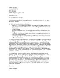 social media cover letter online marketer and social media job