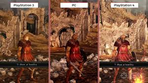 dark souls 2 ps4 graphics comparison preview video dailymotion
