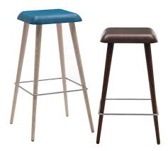 Furniture Elegant Bar Stools Elegant by Furniture Kitchen Modern Bar Stools With Blue And Dark Brown