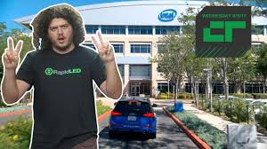 crunch report intel is building its own test driving fleet