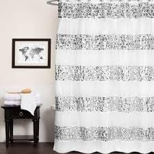 Luxury Shower Curtain White Cotton White Shower Curtains Shop The Best Deals For Dec 2017