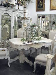 Shabby Chic Dining Table And Chairs Shabby Chic Dining Table Zagons Co