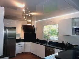 plafond cuisine design spot led encastrable salle de bain spot led plat
