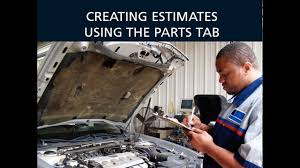 Auto Engine Repair Estimates by Adding Parts To Auto Repair Estimates With Epicor S Integrated