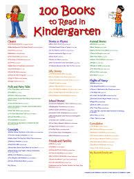 unknown 100 books kindergarten